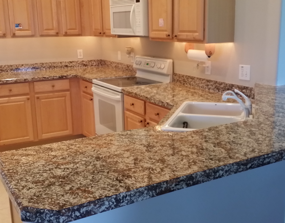 laminate countertop refinishing
